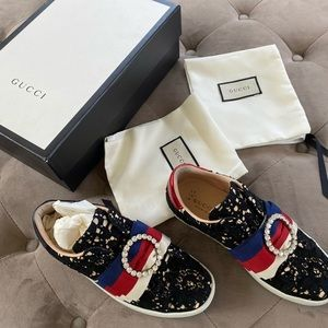 GUCCI Gucci Ace Lace Sneakers 35